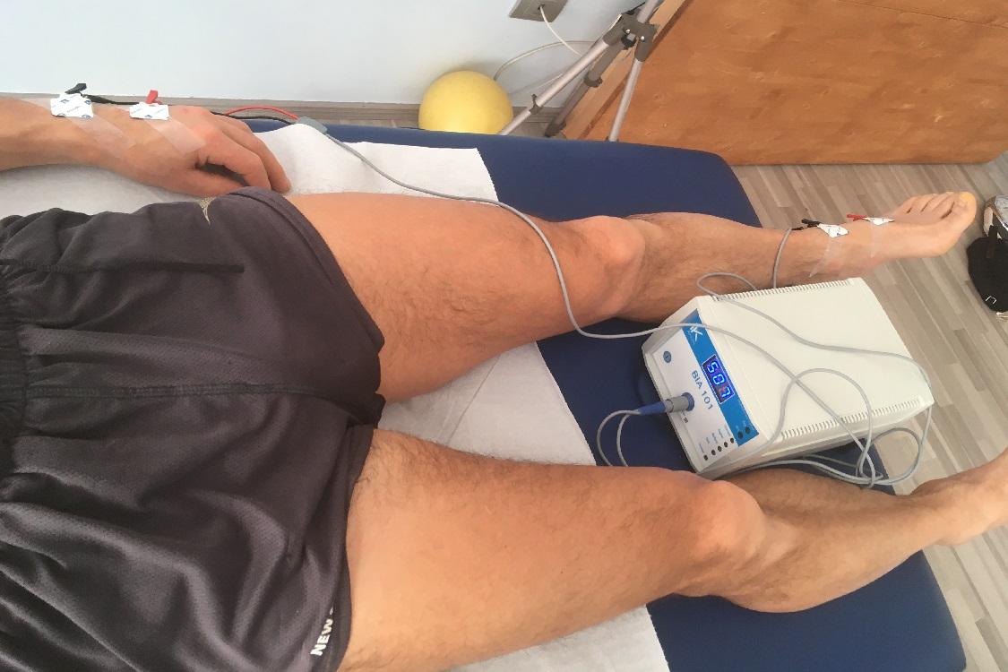 Bioimpedenziometria su atleta eseguito presso il centro Analife