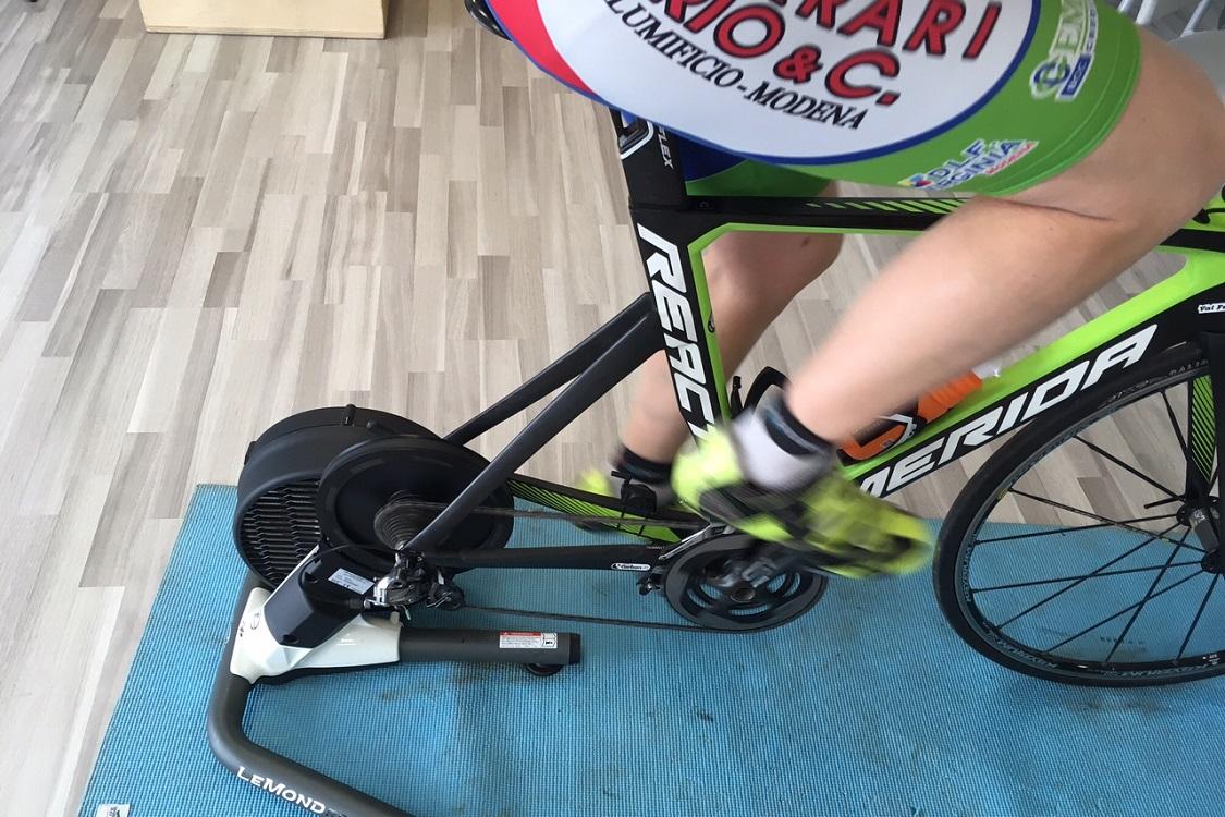 Test di valutazione potenza cadenza nel ciclismo